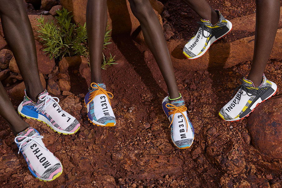 Pharrell Williams x adidas Solarhu Collection - Afro Hu NMD (Mood)