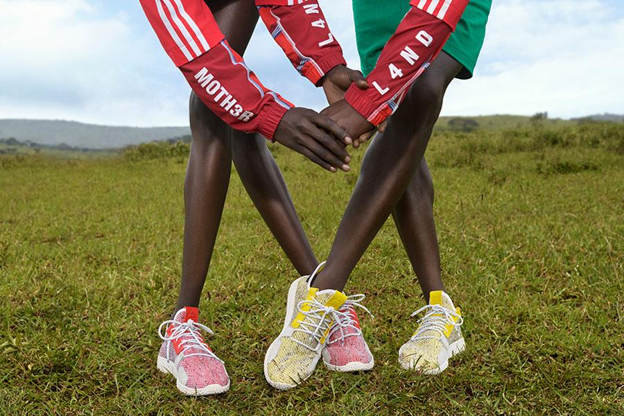Pharrell Williams x adidas Solarhu Collection - Afro Tennis Hu V2 (Mood)