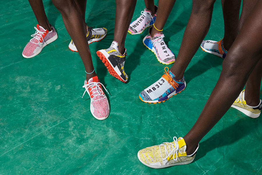 Pharrell Williams x adidas Solarhu Collection - Mood