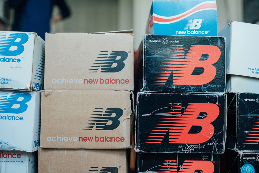 Thomas Dartigues Decktwo - New Balance Shoe Boxes