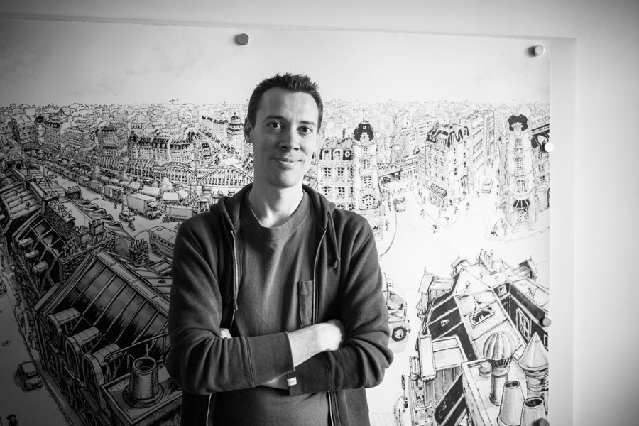 Parisian Artist Thomas Dartigues aka Decktwo | Sneakers Magazine
