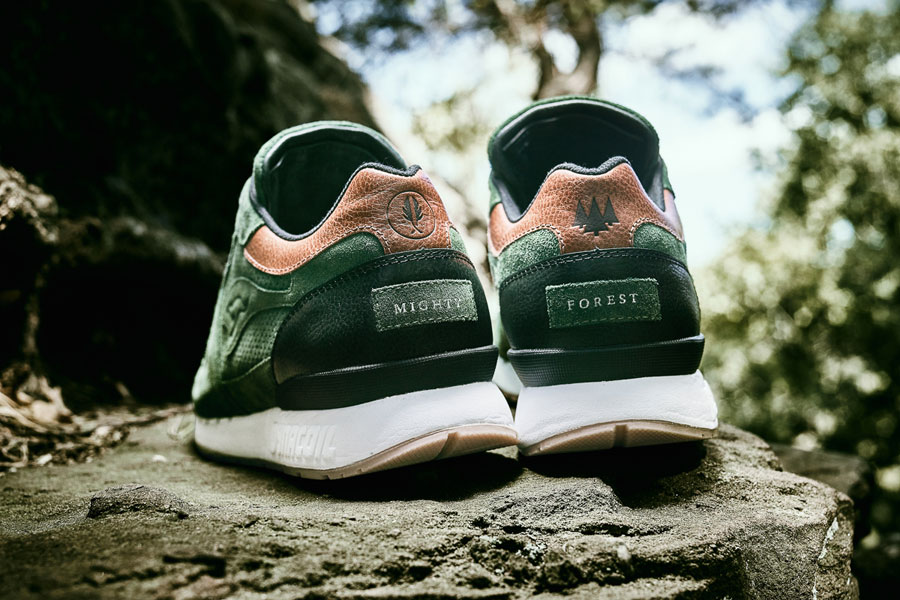 Afew x KangaROOS COIL-R1 Mighty Forest - Back