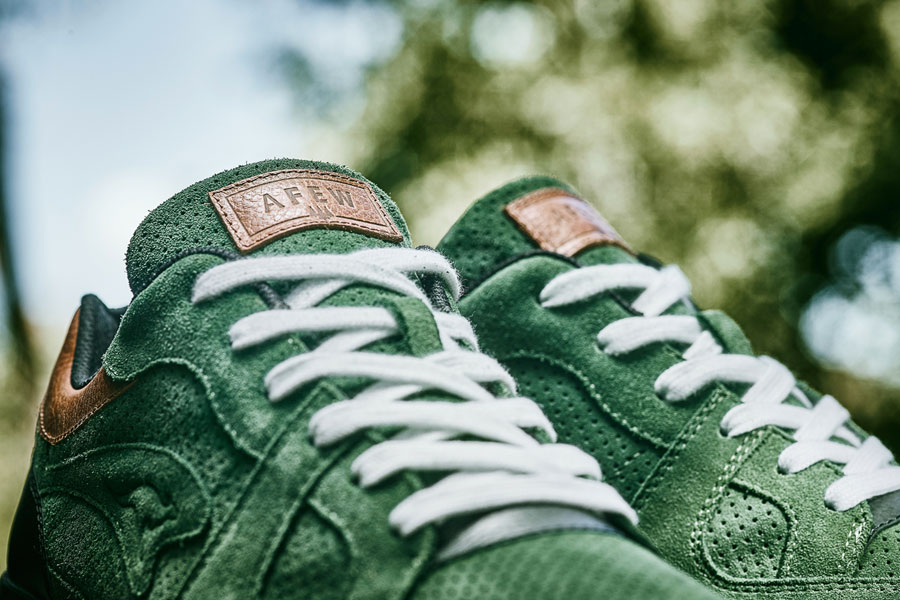 Afew x KangaROOS COIL-R1 Mighty Forest - Laces