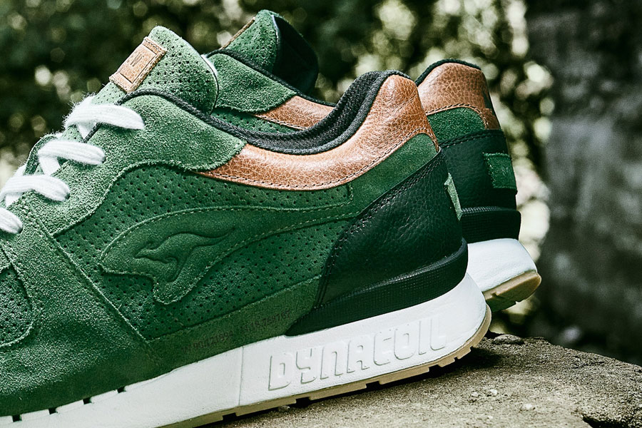 Afew x KangaROOS COIL-R1 Mighty Forest - Quarter