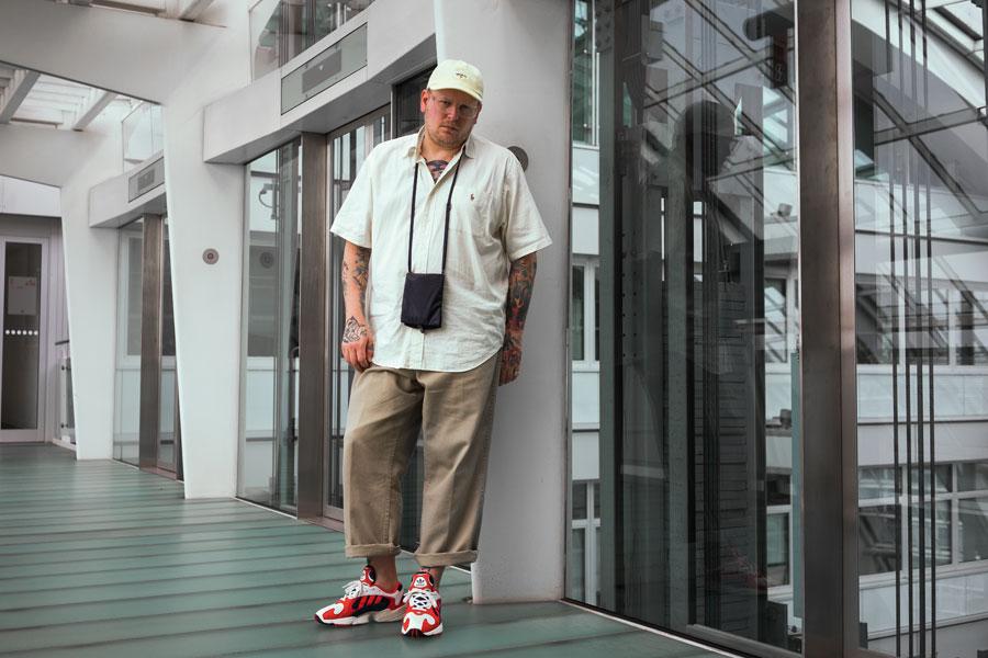 DJ JNS - adidas Yung-1 (Chalk White Nacy) 1