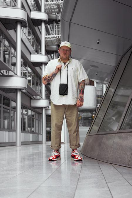 DJ JNS - adidas Yung-1 (Chalk White Nacy) 4