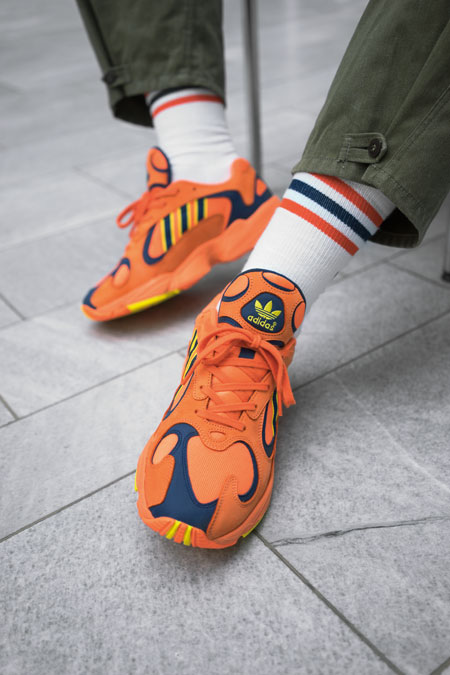 DJ JNS - adidas Yung-1 (Hi-Res Orange) 2