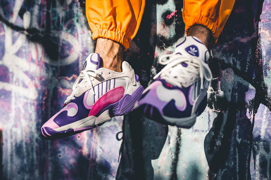 2eecb4d569e9 An On-Feet Look at the Dragon Ball Z x adidas Collection