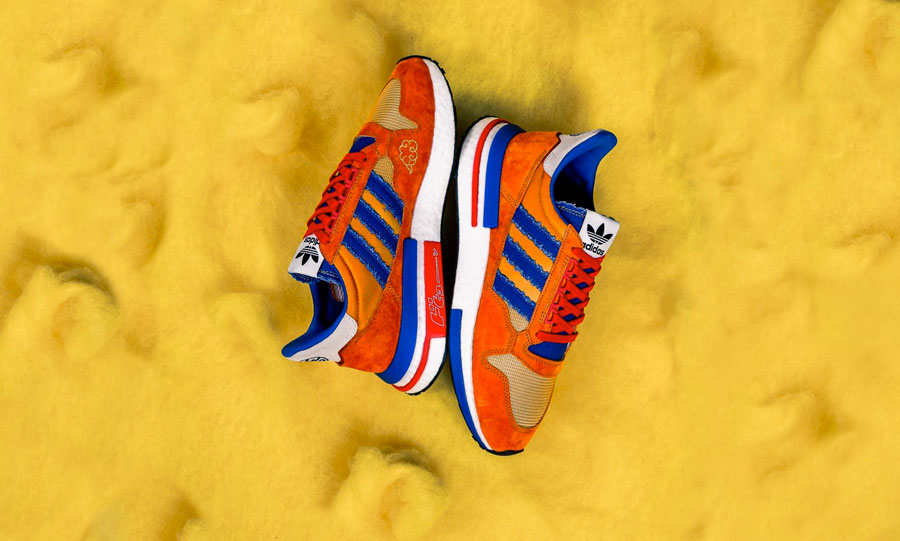 Dragon Ball Z x adidas ZX 500 RM Goku (D97046) - Side