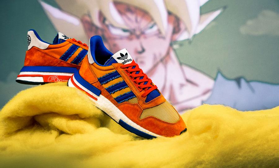 Dragon Ball Z x adidas ZX 500 RM Goku (D97046)