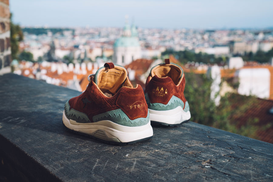 Footshop x KangaROOS Ultimate 3 The City Of A Hundred Spires - Back