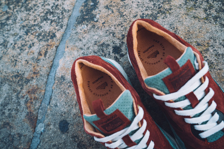 Footshop x KangaROOS Ultimate 3 The City Of A Hundred Spires - Insoles