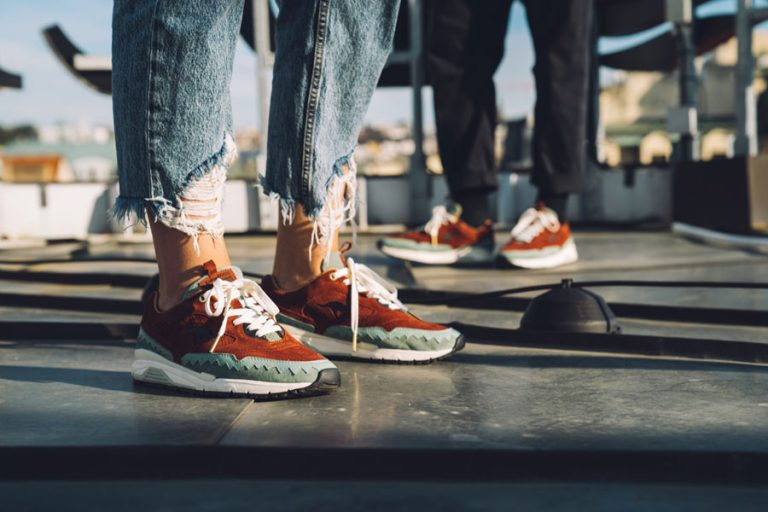 Footshop x KangaROOS Ultimate 3 The City Of A Hundred Spires - On feet