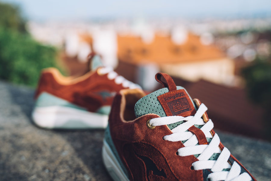 Footshop x KangaROOS Ultimate 3 The City Of A Hundred Spires - Tongue