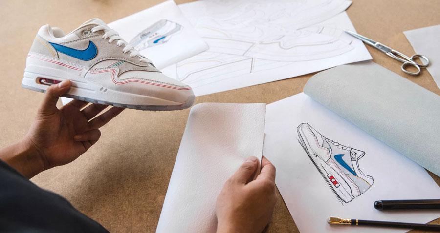 Nike Air Max 1 By Day (AV3735-002) - Design