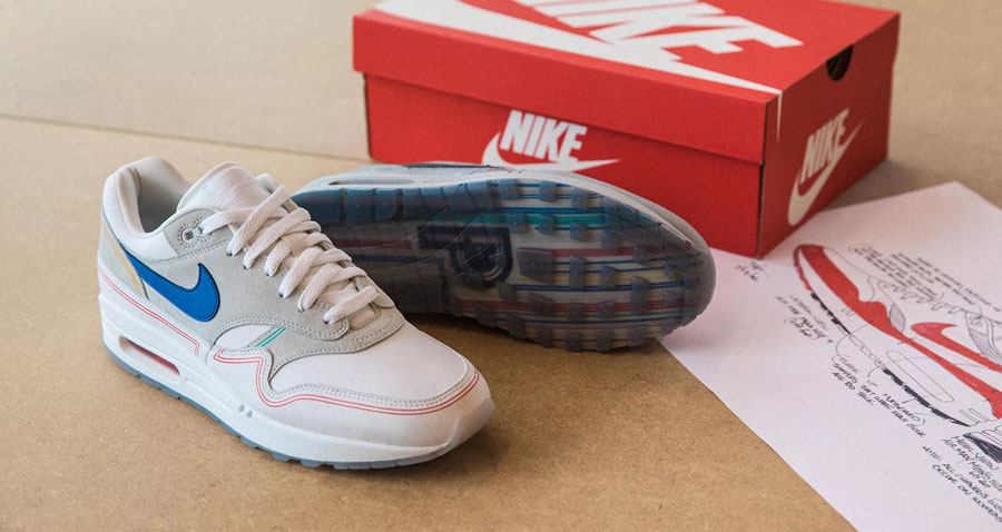 competitive price 98e26 3fa2f Nike Air Max 1 By Day (AV3735-002) - Mood