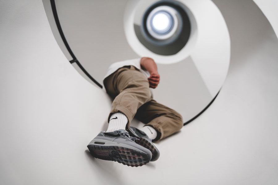 Nike Air Max 1 By Night (AV3735-001) - On feet 3