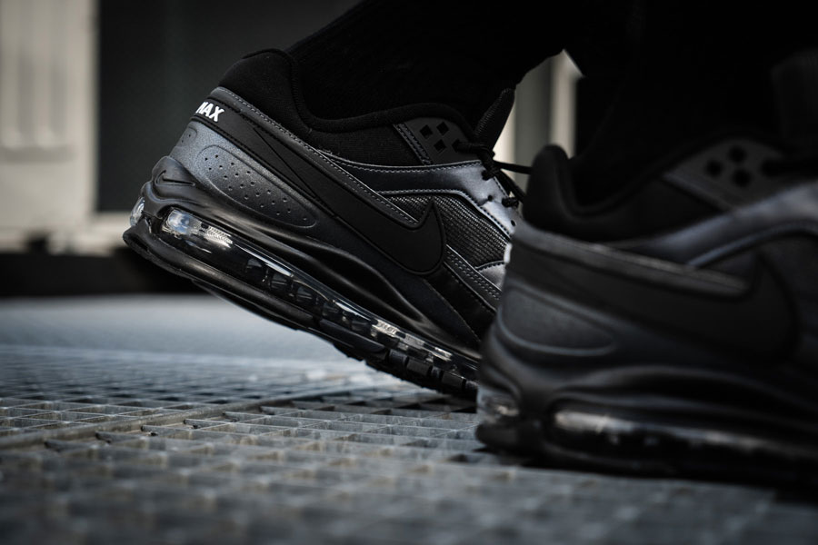 Nike Air Max 97 BW Black Metallic Hematite (AO2406 001) - Heels