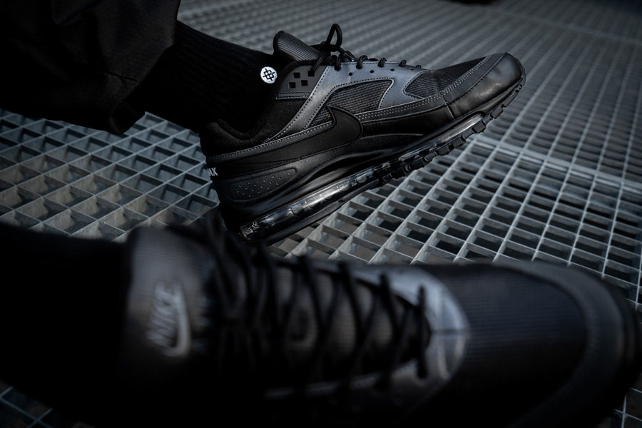 Nike Air Max 97 BW Black Metallic Hematite (AO2406 001) - On feet