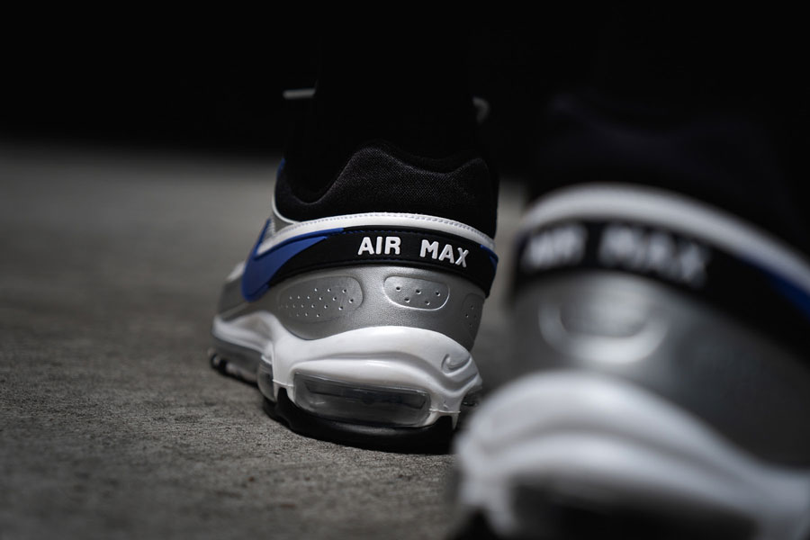 Nike Air Max 97 BW Metallic Silver Persian Violet (AO2406 002) - Back