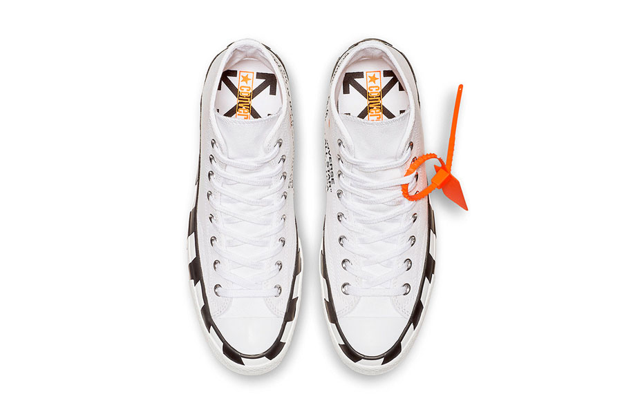 OFF-WHITE x Converse Chuck Taylor All Star (Version 2) - Top