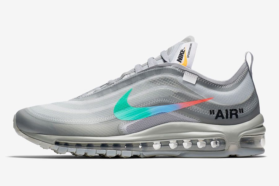 OFF-WHITE x Nike Air Max 97 Menta - Left