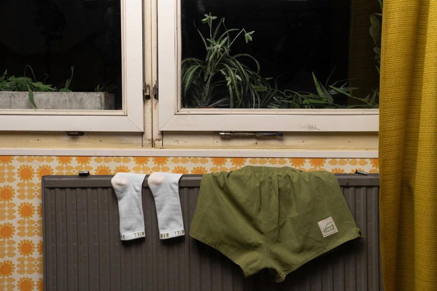 Overkill x Reebok Classic Berlin 1985 - Socks Shorts