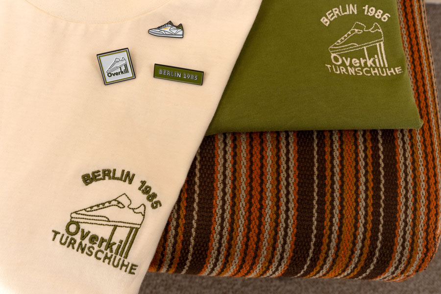 Overkill x Reebok Classic Berlin 1985 - T-Shirts