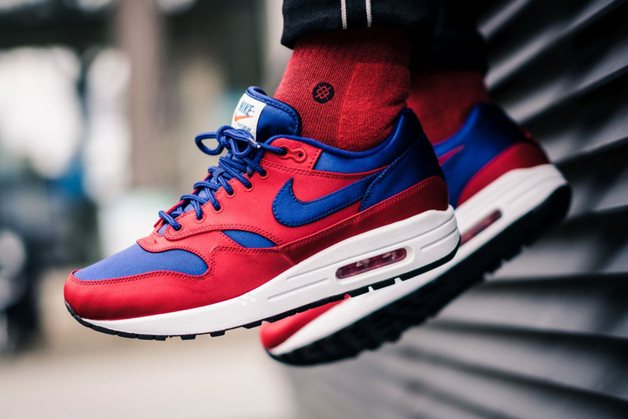 Best Nike Air Max 1 SE Red Blue