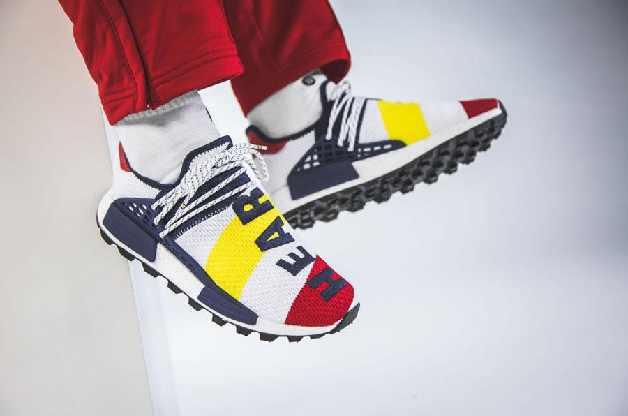 Billionaire Boys Club x Pharrell Williams x adidas Hu NMD (BB9544) - 3