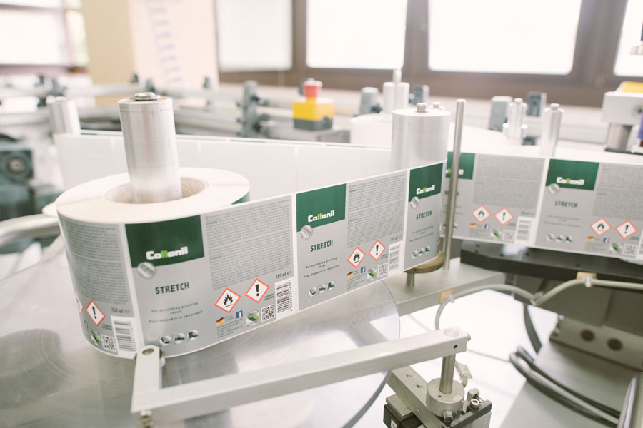 Collonil Carbon - Hikmet Sugoer (Labeling Machine)