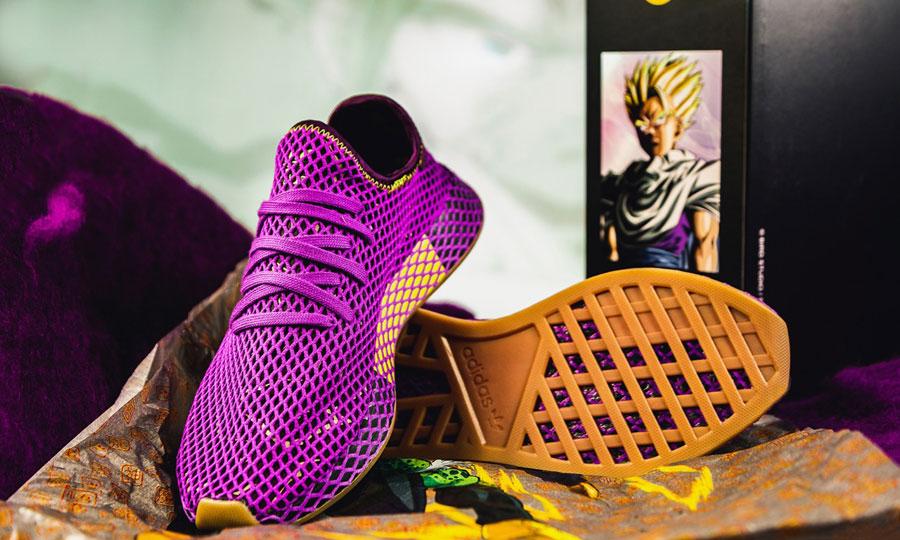 fd7495b0c44eb8 Dragon Ball Z x adidas Deerupt Gohan (D97052) - Box