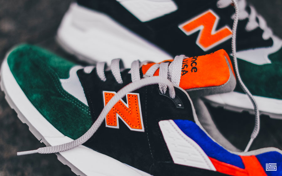 DTLR Villa x New Balance 998 SMU Four 4 Four - Side