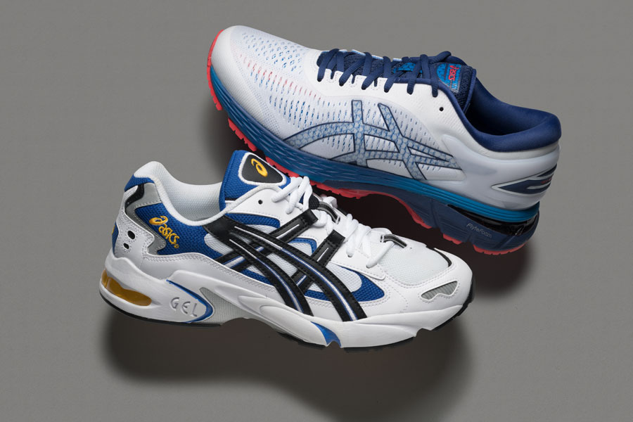 History ASICS GEL-Kayano 25 & 5 (Highlight)