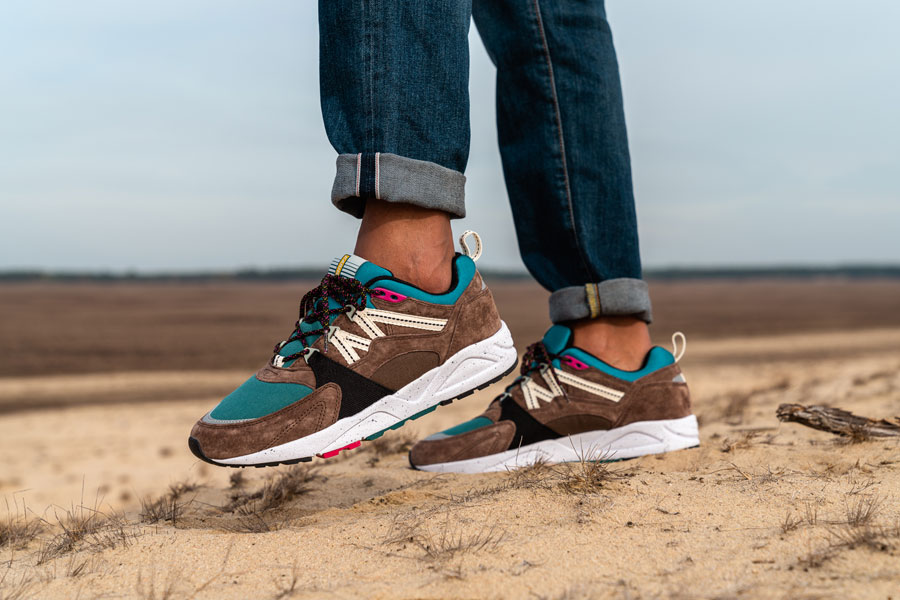 Karhu Winter Pack 2018 - Fusion 2.0 (Bracken Shaded Spruce) - On feet