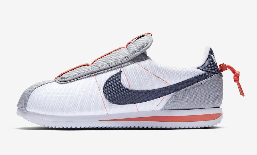 Kendrick Lamar x Nike Cortez Kenny IV House Shoes (AV2950-100) - Left