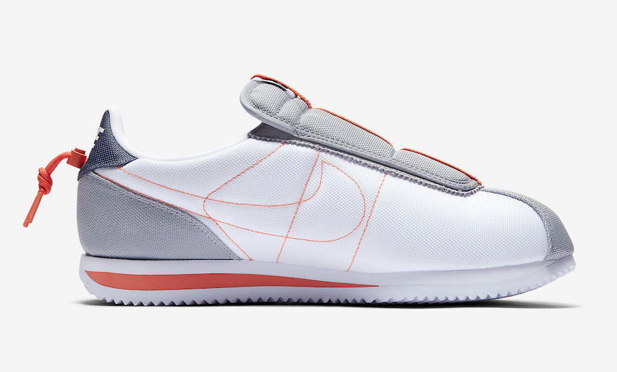 Kendrick Lamar x Nike Cortez Kenny IV House Shoes (AV2950-100) - Right