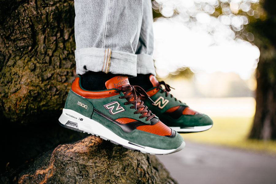 New Balance 1500 Made In England Robin Hood (M1500GT) - On feet 1