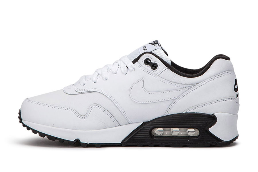 Nike Air Max 90-1 White Black (AJ7695-106) - Left