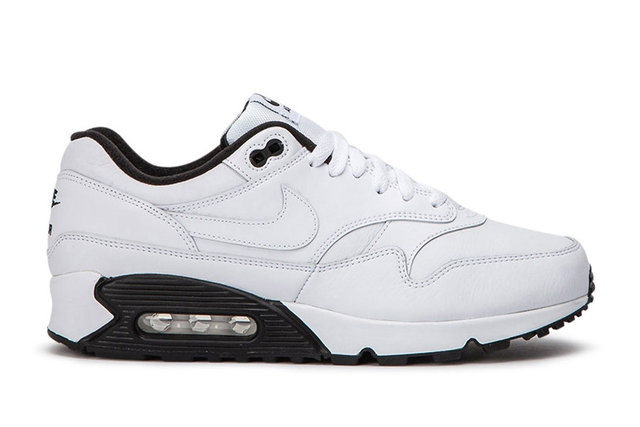 Nike Air Max 90-1 White Black (AJ7695-106) - Right