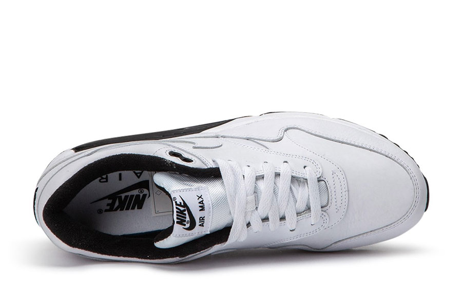 Nike Air Max 90-1 White Black (AJ7695-106) - Tongue