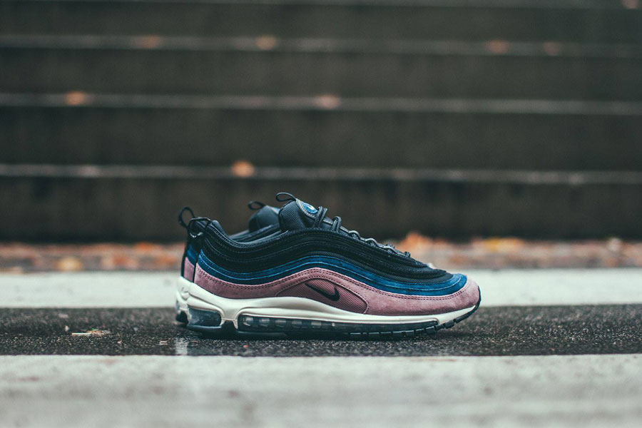 Nike Air Max 97 Premium Shoes Smokey Mauve Black