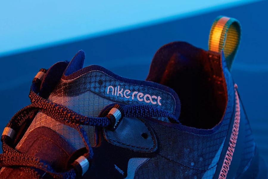Nike React Element 87 Neptune Green (AQ1090-005) - Tongue