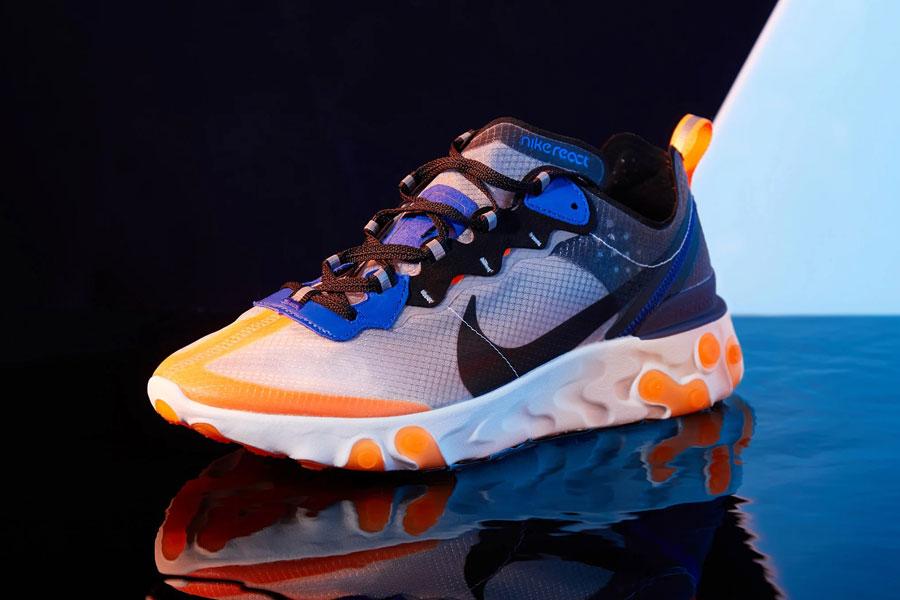 Nike React Element 87 Total Orange (AQ1090-004)