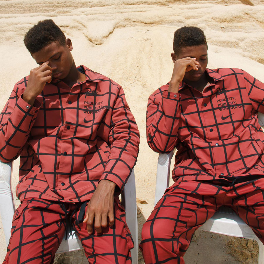Patta x Nike Publicity Wohooooow - Checkered Suit