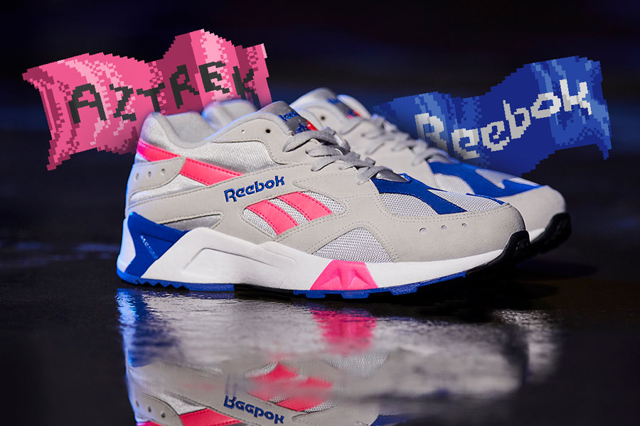 Reebok Aztrek WE-Skull Grey Acid Pink (DV3941)