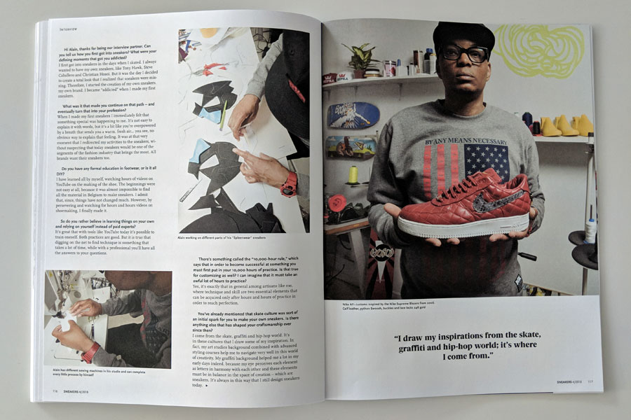 Sneakers Mag October 2018 - Issue 40 (Alain Mukendi)