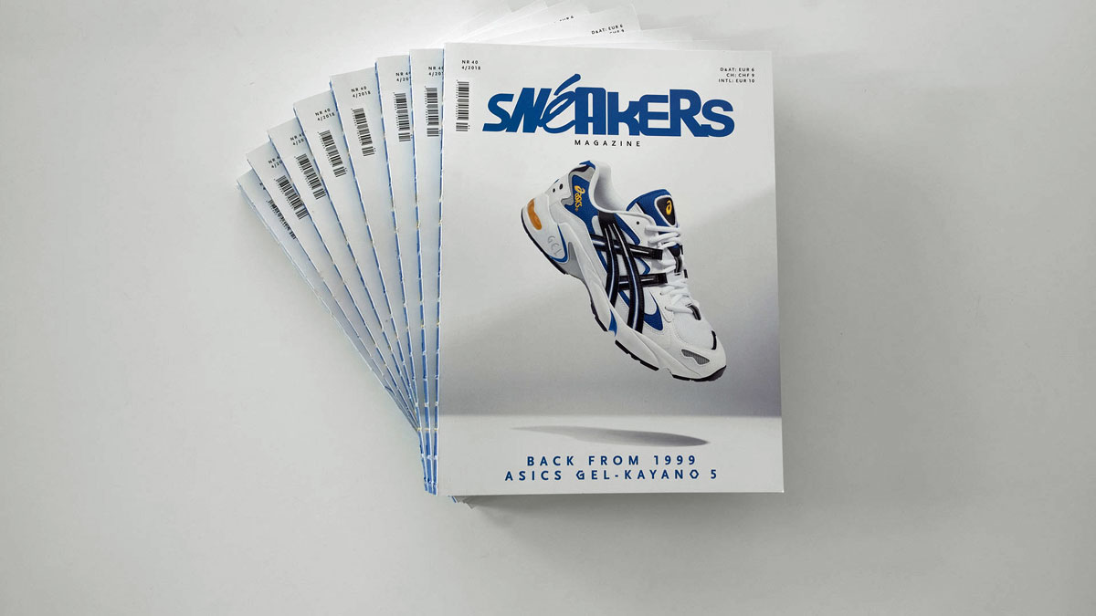Sneakers Mag October 2018 - Issue 40 (Slider)