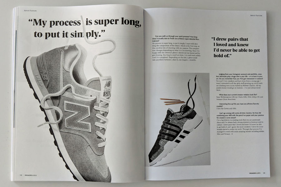 Sneakers Mag October 2018 - Issue 40 (Steph Morris)