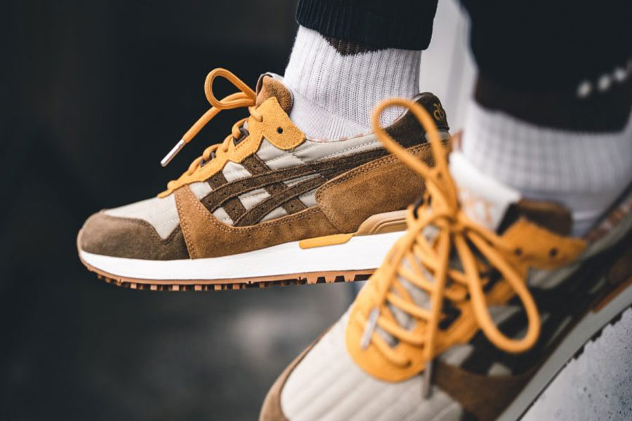 YMC x ASICS GEL-LYTE XT You Must Create (Sand Brown Storm) 2